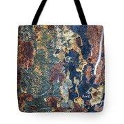 Rust Closeup  Tote Bag