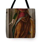Saint Catherine Of Alexandria Tote Bag