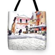 San Felice Circeo Square Tote Bag