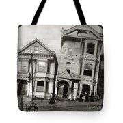 San Francisco Earthquake Tote Bag
