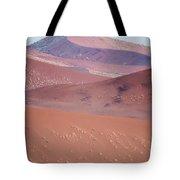 Sand Dune, Sossusvlei, Namib Desert Tote Bag
