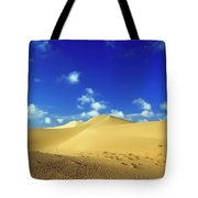 Sandy Desert Tote Bag