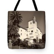 Santa Barbara County Courthouse Tote Bag