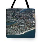 Seagate And Brighton Beach In Brooklyn Aerial Photo Tote Bag