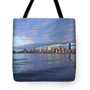 Seattle Skyline Cityscape Tote Bag