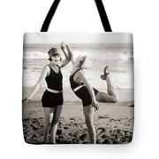 Silent Still: Bathers Tote Bag
