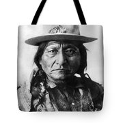 Sitting Bull (1834-1890) Tote Bag
