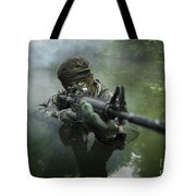 Special Operations Forces Soldier Tote Bag