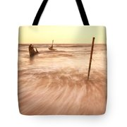 S.s Dicky Shipwreck Tote Bag