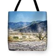 Steaming Tote Bag