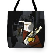 Still Life With Newspaper  Tote Bag
