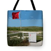 Storm Warning On The Atlantic Ocean In Florida Tote Bag