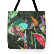 Watermelon In The Space Tote Bag