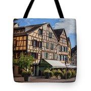 Streets Of Colmar Tote Bag