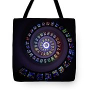 Spiral Stained Glass Tote Bag