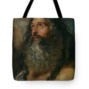 Study Of Two Heads Tote Bag