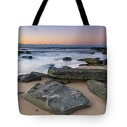 Sunrise And The Sea Tote Bag