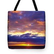 Sunset In Aguadillia Puerto Rico  Tote Bag