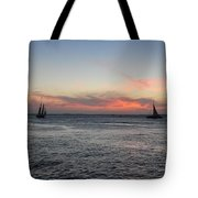 Sunset Key West  Tote Bag