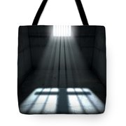 Sunshine Shining In Prison Cell Window Tote Bag