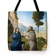 Temptation Of Christ Tote Bag