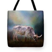Texas Longhorn Steer Tote Bag