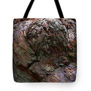 Textures On A Giant Sequoia Tote Bag