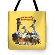 Thanksgiving Ducks Tote Bag