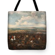The Battle Of Oudenaarde Tote Bag