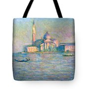 The Church Of San Giorgio Maggiore - Venice Tote Bag
