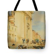 The Church Of The Gesuati Tote Bag