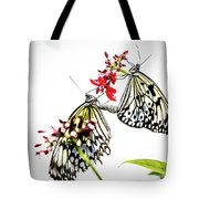 The Extraordinary Rice Paper Butterfly A Series Tote Bag