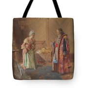 The First Curtsey Tote Bag