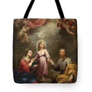 The Heavenly And Earthly Trinities Tote Bag