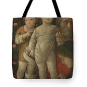 The Holy Family With Saint John Tote Bag