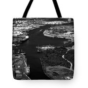 The Houston Ship Channel Tote Bag