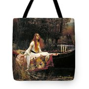 The Lady Of Shalott Tote Bag