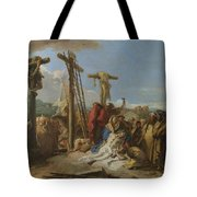 The Lamentation At The Foot Of The Cross Tote Bag