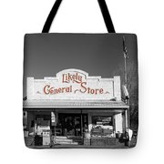 The Likely General Store - California  Tote Bag