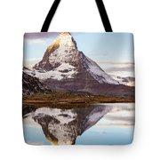 The Matterhorn Mountain In Switzerland Tote Bag