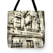 The Prospect Of Whitby Pub London Vintage Tote Bag