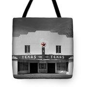 The Texas Theatre Of Bronte Texas Tote Bag