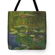 The Water Lily Pond Tote Bag