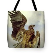 The Wounded Eagle Tote Bag
