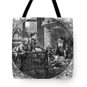 Thomas Nast: Christmas Tote Bag by Granger