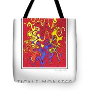 Tickle Monster Tote Bag