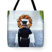 Tomb Of The Unknown Soldier Tote Bag by John Greim