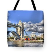 Tower Bridge And The Waverley Tote Bag