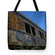 Train Art Tote Bag