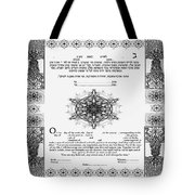 tree of life ketubah-Reformed and Interfaith version Tote Bag
